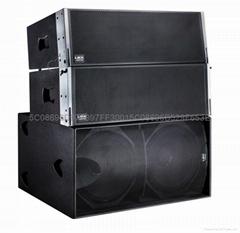 雙12寸線陣音響系統