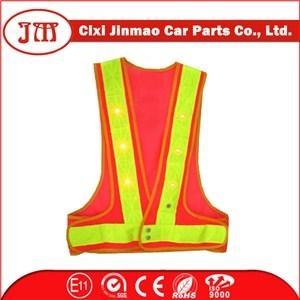 Mesh Pvc Reflective Tape Roadway Safety Vest 1