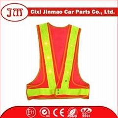 Mesh Pvc Reflective Tape Roadway Safety Vest