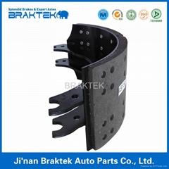 high quality semi trailer brake shoe set 4515