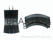 semi trailer brake shoe 4551