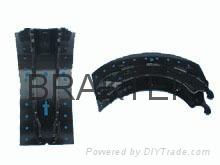 BPW180 brake shoe