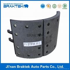 brake shoe assembly FUWA11.5T