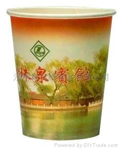 7盎司一次性廣告紙杯定製 精美四色彩印 衛生環保 5