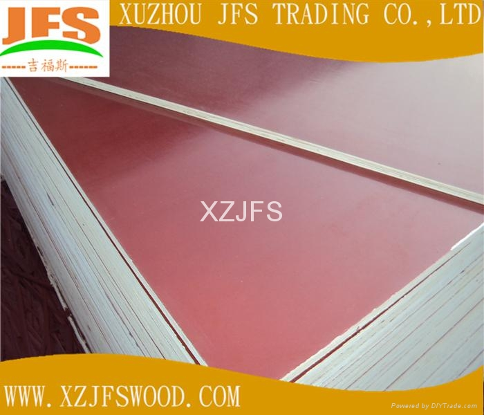 GOOD QUALITY wbp glue red film faced plywood  5