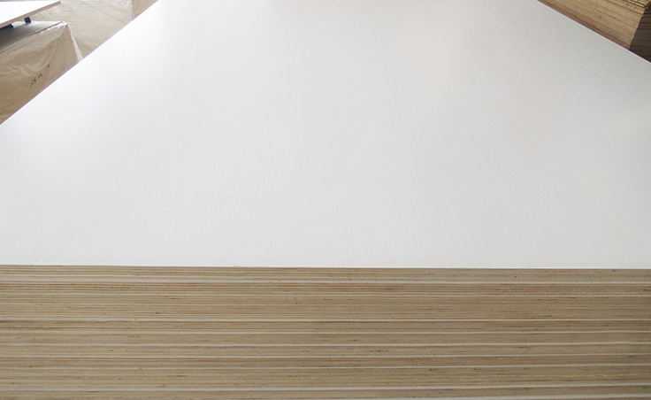 3mm/18mm/21mm White Color HPL Plywood 1