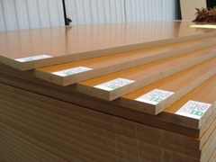 17mm Water Proof Melamine Faced MDF for Furniture