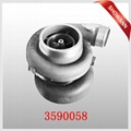 turbocharger for  to VO  O D16A TD160