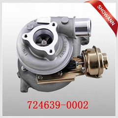 GT2052V Turbocharger for Nissan Patrol with ZD30ETi Engine 724639 724639-0002