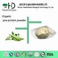 Organic pea protein powder