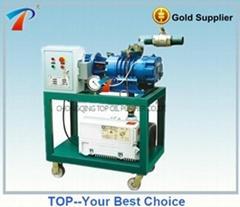 Vacuum pumping device vacuum forming machine