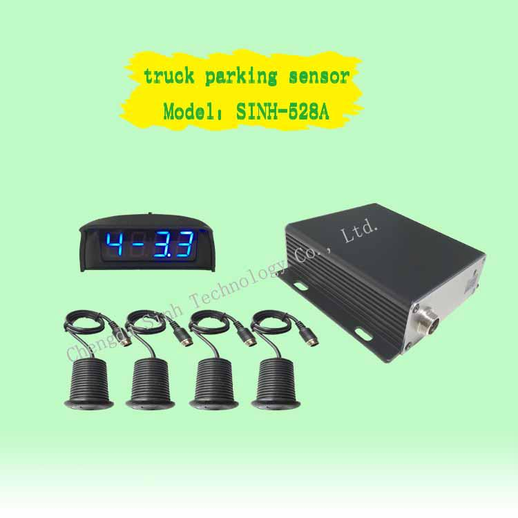12V&24V truck LED parking sensor  LED parking sensor Detection range of 5 m 1