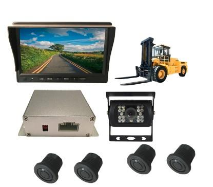 2017NEW Design Forklift reverse parking sensor system with Rear view camera 1