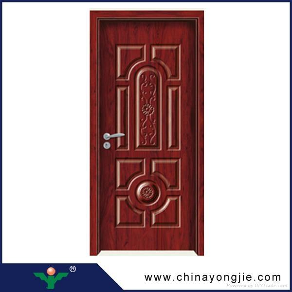 Modern house interior doors design wooden door vents for Quality door design