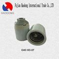 E40 ceramic porcelain lamp holder base
