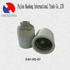 E40 ceramic porcelain lamp holder base socket
