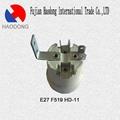 E27 ceramic porcelain lamp holder base