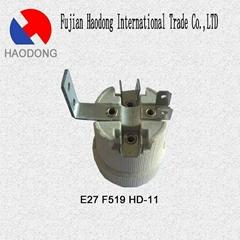 E27 ceramic porcelain lamp holder base socket