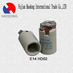 E14 G13 T8 ceramic porcelain lamp holder base socket