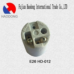 E26 ceramic porcelain lamp holder base socket
