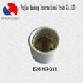 E26 ceramic porcelain lamp holder base socket 3