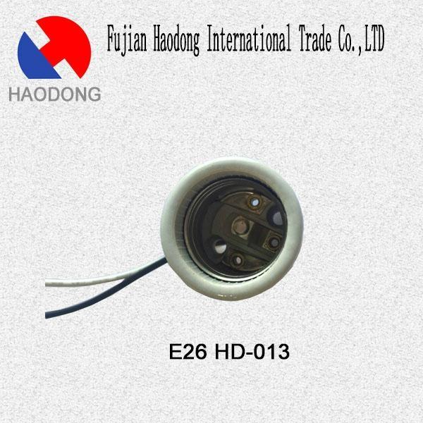 E26 ceramic porcelain lamp holder base socket 5