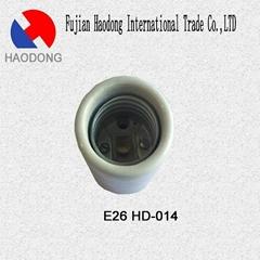 E26 ceramic porcelain lamp holder base socket