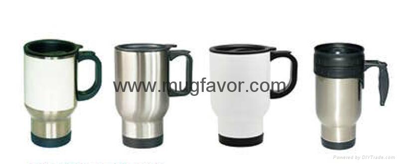 Sublimation Stainless Steel Travelling Mug 2