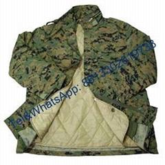 Plain color Digital Camouflage Nylon Cotton Polyester Waterproof  M65 Jacket