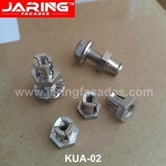 High Quality Stainless Steel 304/A2 Jaring Undercut Anchors (KUA-02)