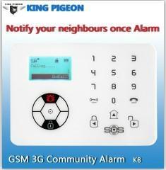 GSM Alarm System with CE FCC Rohs App GSM Auto Dial Alarm System GSM SMS Wireles