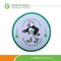 Animal pattern frisbee toy with