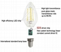 4W LED filament bulb candle bulb 2