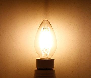 4W LED filament bulb candle bulb 3