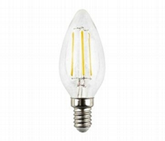 4W LED filament bulb candle bulb