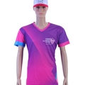 Sublimation digital printed men's t shirt for promotion and advertising