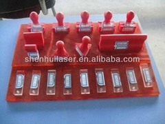 Hot Sale Mini Laser Engraver Stamp/Rubber Machine