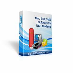 Mac Bulk SMS Software for USB Modems