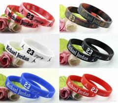 Rubber wristbands | Promotional black silicone wristband | Customized black sili