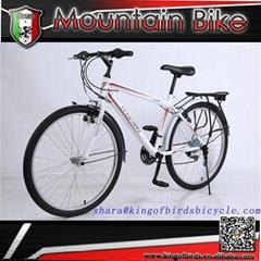 26 inch 18 speed mountain bike steel frame mtb
