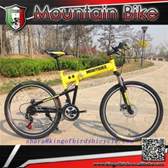 folding mountain bike 21speed foldable mtb china alibaba manufacturer