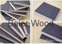 poplar plywood 27mm shuttering film faced plywood