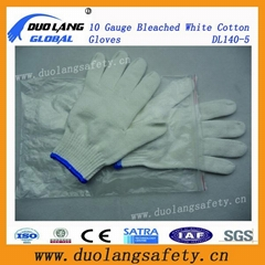 Industrial Safety Cotton Knitted Latex Coated Hand Work Glove