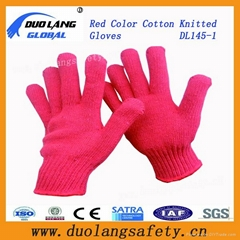 Seamless Knit Cotton Gloves Bulk