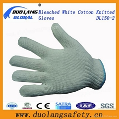 Hot Sale Knitted Cotton Gloves, Polycotton Gloves, Good Quality, Work Gloves,