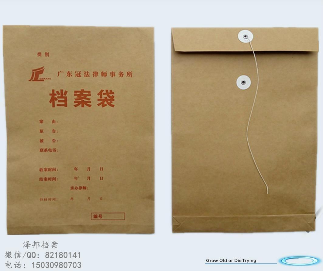 进口纸档案袋 1