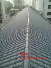 350kg/h PVC roof tile ma