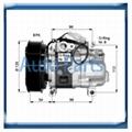 Panasonic Mazda 6 Mazda 5 compressor