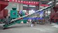 Belt conveyor  for briquette production line