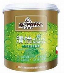 Giraffe Qingyisandai Wood Paint.